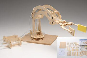 ウッドモデル ロボットアーム